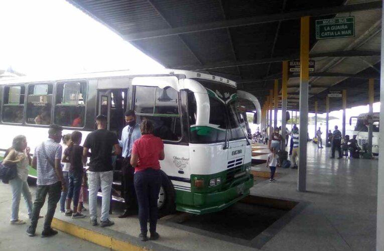 Ruta a Valencia no es rentable por los $50 que gastan choferes en gasoil