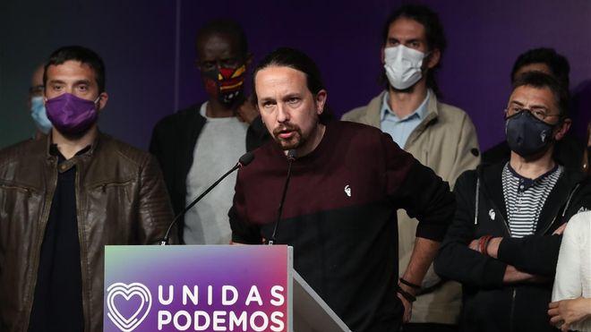 Pablo Iglesias renuncia tras derrota de Podemos