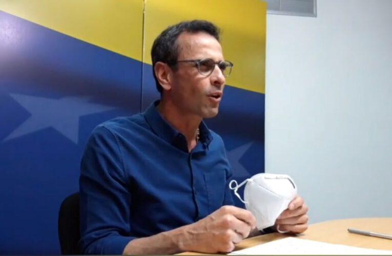 Capriles sobre el nuevo CNE: Es un primer paso para abrir caminos
