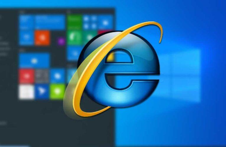 Internet Explorer sale del mercado después de 25 años