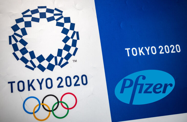 Pfizer dará vacunas a atletas olímpicos