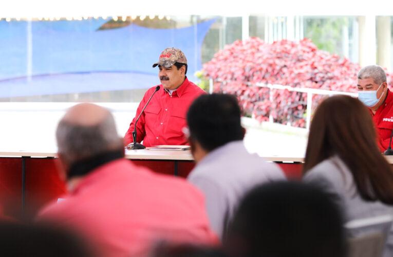 Maduro anunció reunión con la oposición este jueves