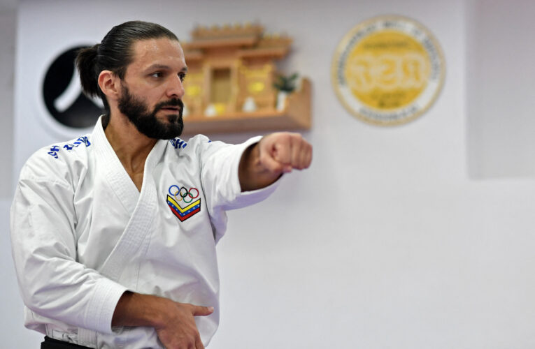 Antonio Díaz clasificó a Tokio