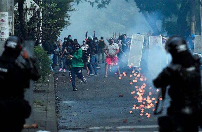 Ministro de Defensa de Colombia: Hay fuerte presencia de venezolanos en protestas