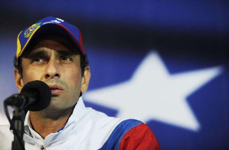 Capriles: Conversar con Maduro no significa legitimarlo