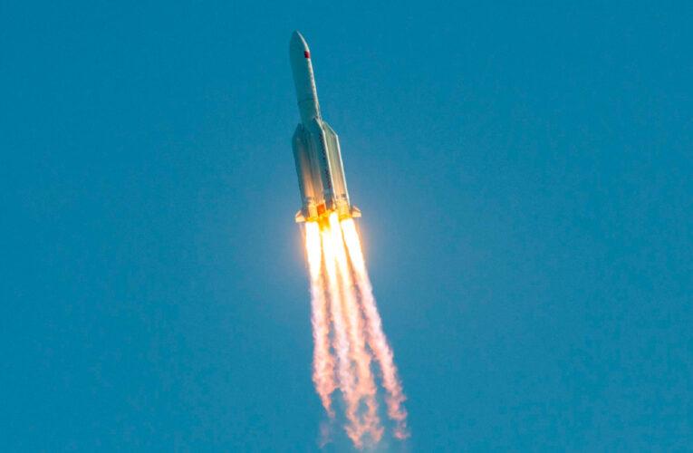 Cohete chino se desintegró y cayó sobre el océano Índico