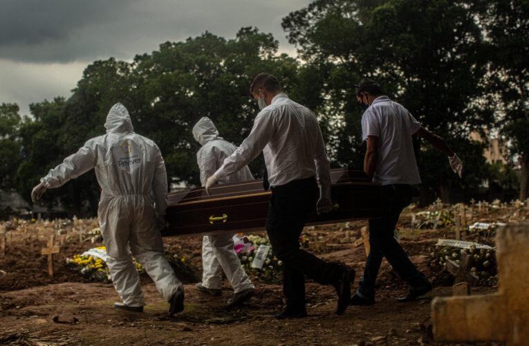 OPS: Latinoamérica sobrepasa el millón de muertes por covid