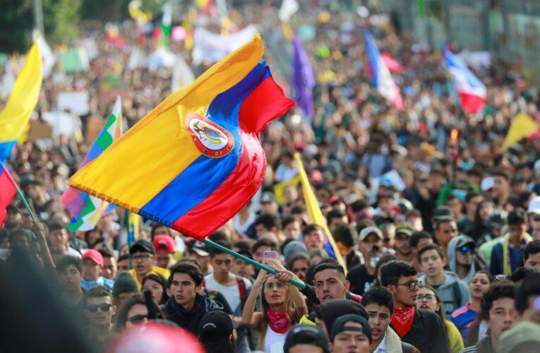Buscan en Colombia a 168 desaparecidos en las protestas
