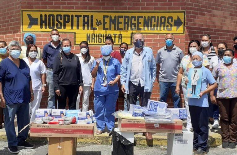 Médicos Unidos Venezuela entregó material de protección en Naiguatá