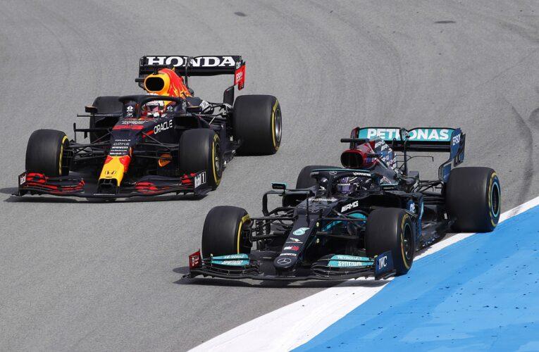 Hamilton le ganó otro round a Verstappen en España