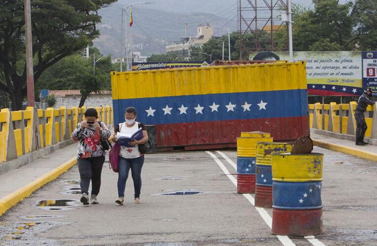 Colombia estudia reabrir la frontera con Venezuela en junio