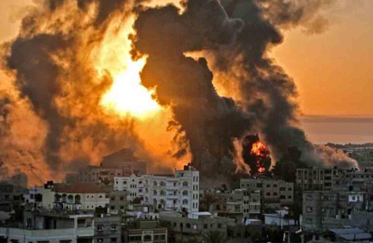 Ascienden a 65 los muertos por bombardeos contra Gaza