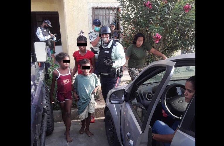 Polimunicipal rescató a 3 niños de un incendio en Mare