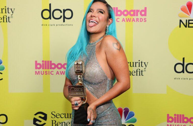 Karol G y Bad Bunny triunfan en los Billboard