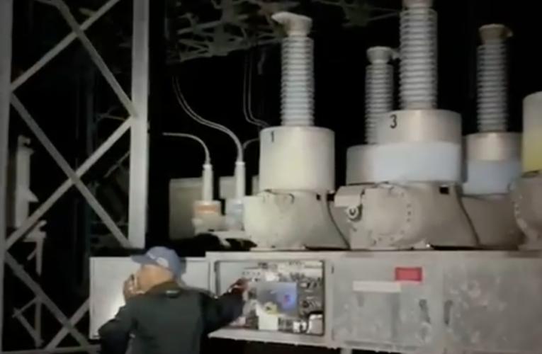 Continúan trabajos para restituir el servicio eléctrico