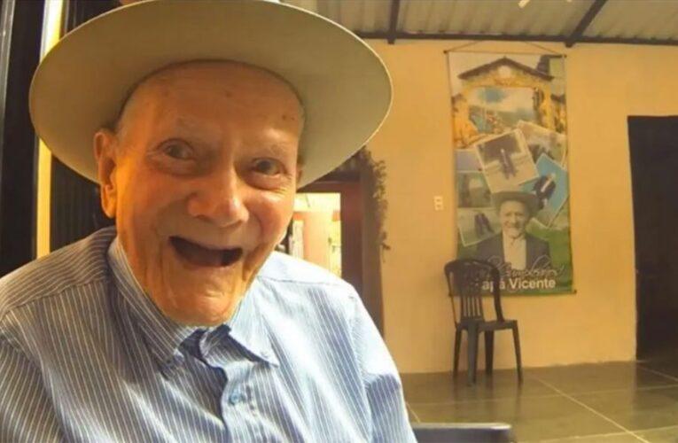El hombre más longevo de Venezuela cumplió 112 años