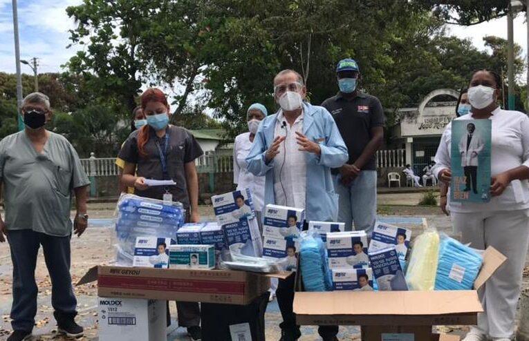 Médicos Unidos entregó material de bioseguridad en La Costa