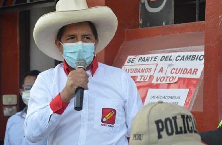 Fiscalía peruana abre investigación contra candidato Pedro Castillo