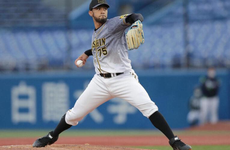 Suárez es líder en salvados del beisbol japonés