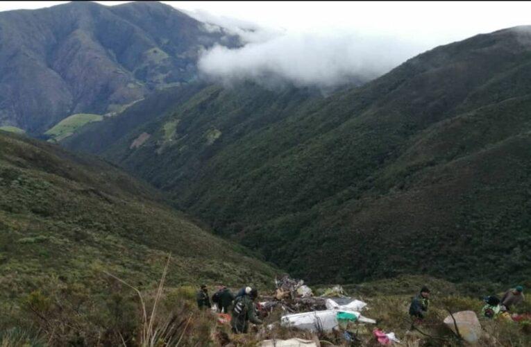 2 muertos al caer y explotar avioneta en Páramo del Táchira