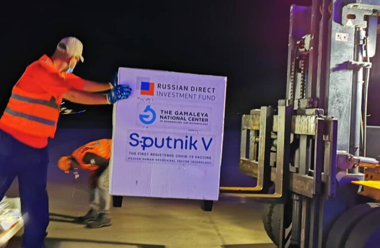 Llegaron otras 50.000 vacunas Sputnik V