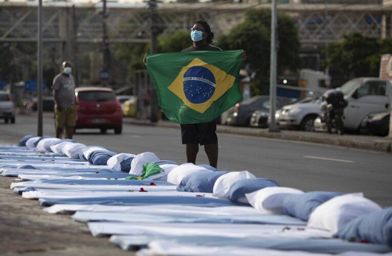 Brasil superó los 18 millones de infectados