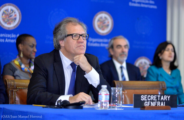 Almagro pide suspender a Nicaragua de la OEA