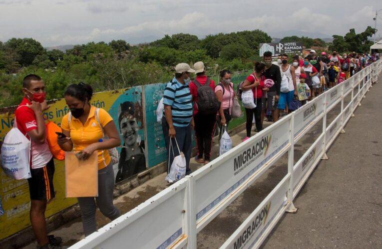 Colombia abrió la frontera pero Venezuela no