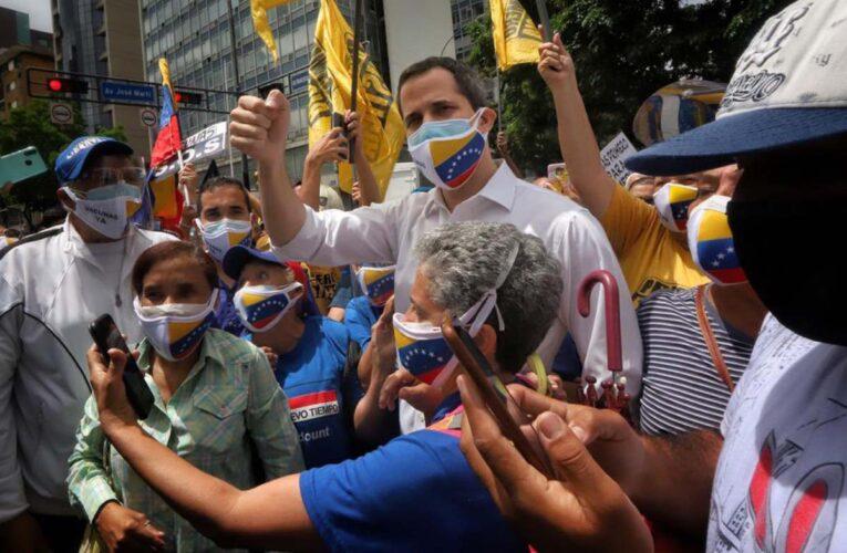 Guaidó: México podría ser sede para dialogar con Maduro
