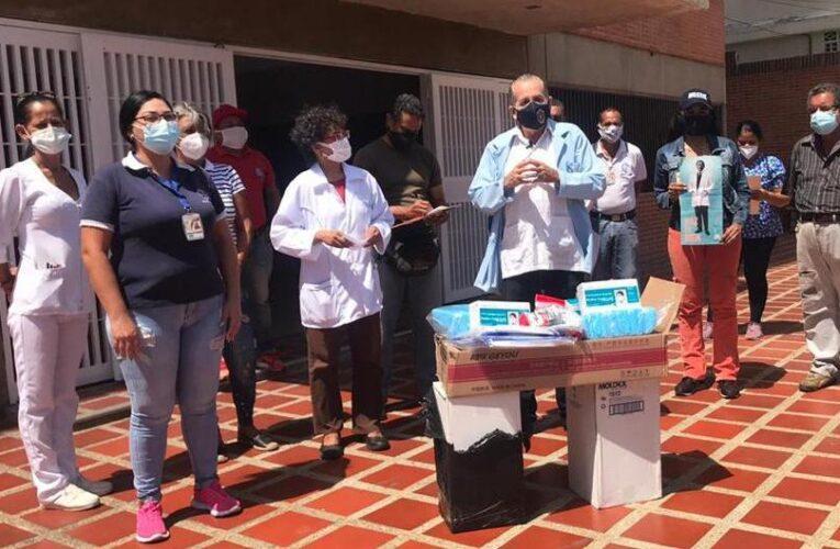 Médicos Unidos entregó material de bioseguridad en el Ipasme