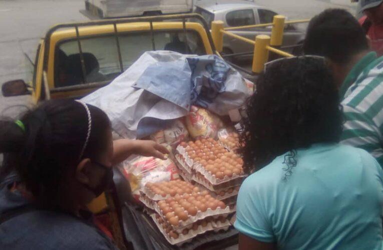 Distribuyen 72.900 kilos de alimentos en Carayaca