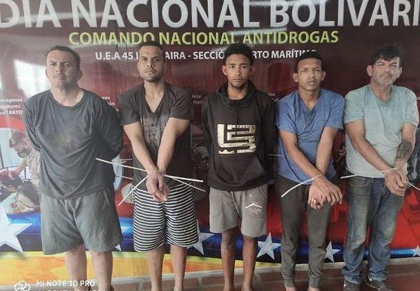 Capturan a los cuatro fugados del puerto