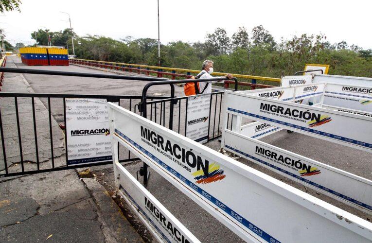 Colombia mantendrá cerrada la frontera con Venezuela