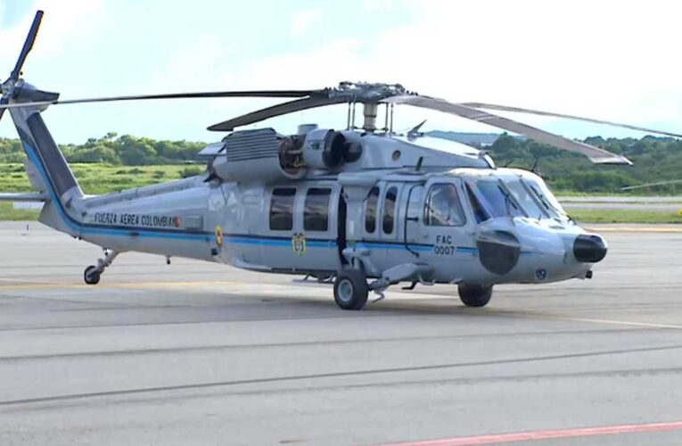 Disparan contra helicóptero en que viajaba Iván Duque