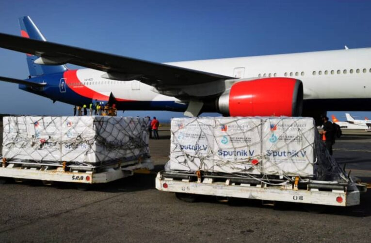 Venezuela recibe nuevo lote de 500 mil Sputnik V