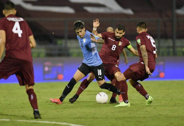 La Vinotinto empata sin goles ante Uruguay