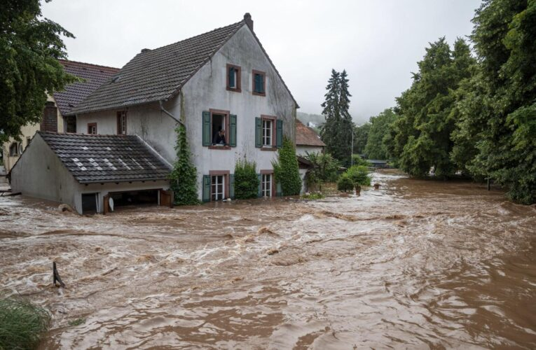 Más de 50 muertos y decenas de desaparecidos en Europa por las lluvias