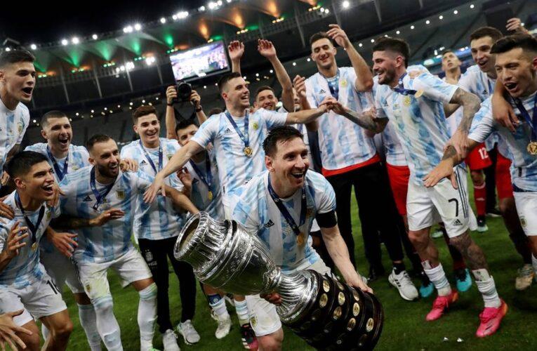 Argentina campeón de la Copa América