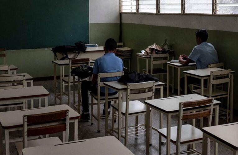 80% de los estudiantes venezolanos «no están preparados para un nivel superior»