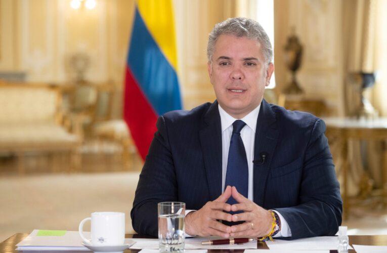 """Duque pide que Venezuela sea declarada """"promotora del terrorismo"""""""