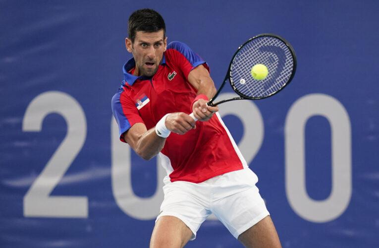 Djokovic y Osaka siguen firmes en Tokio