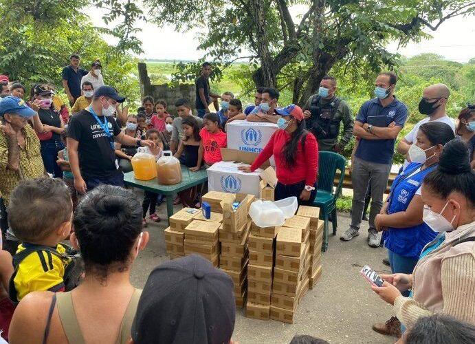 ONU presta apoyo a afectados por las lluvias en Apure