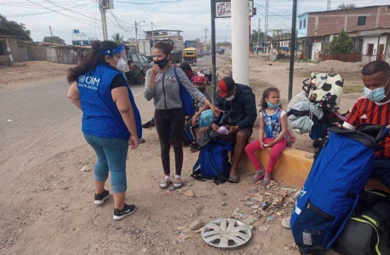 Perú aprueba residencia humanitaria para migrantes venezolanos