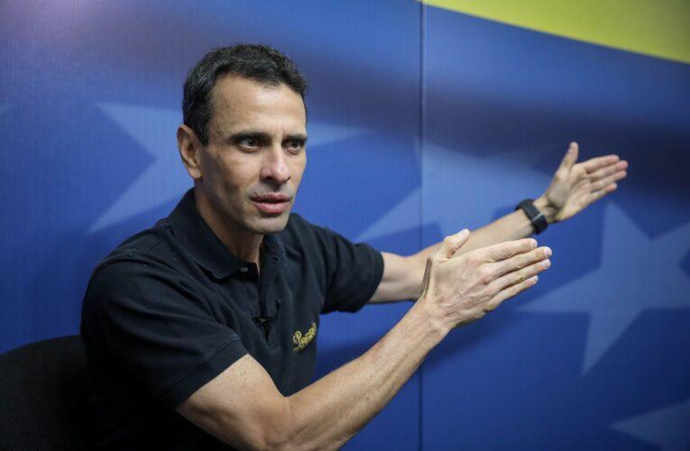 Capriles: Negociaciones con el Gobierno no han dado resultado