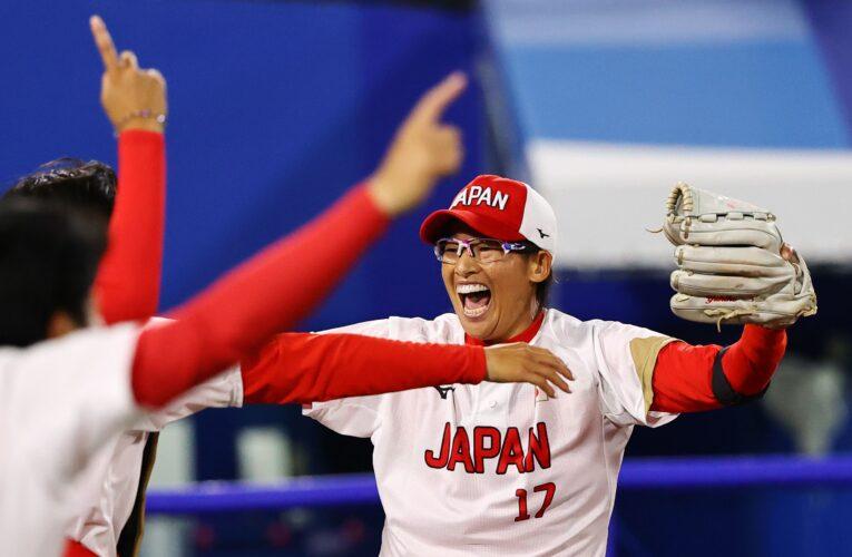 Japón retiene el oro en softbol