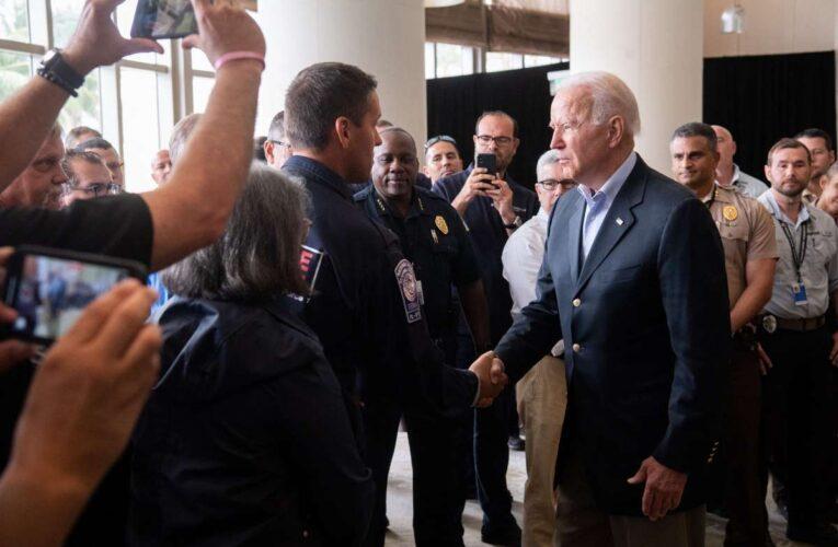Biden en Miami: Esto es de vida o muerte. No nos iremos a ningún lado