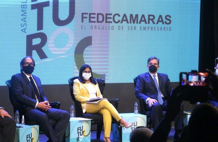 Rodríguez anuncia mesa de trabajo con empresarios para sustituir importaciones