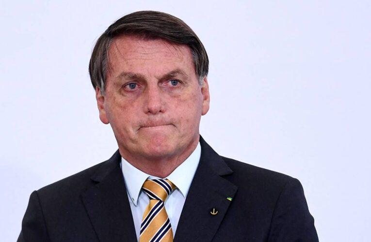 Investigan a Bolsonaro por corrupción en torno a vacunas