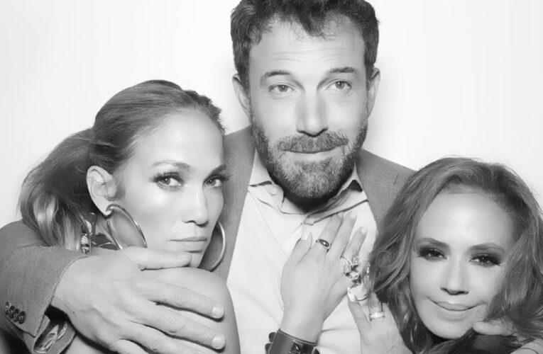 J-Lo y Ben Affleck se retratan juntos