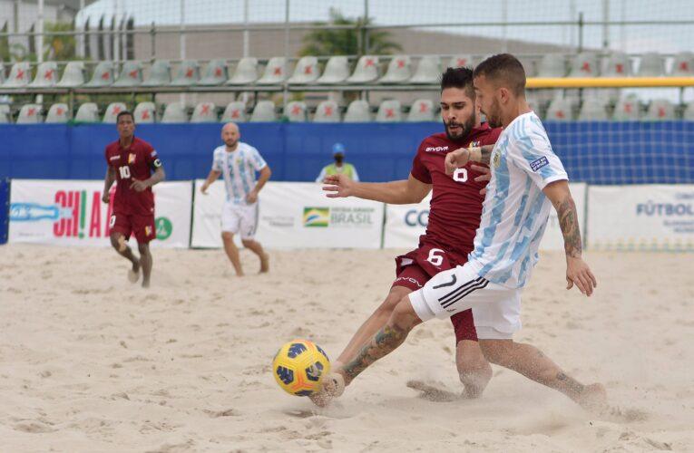 Vinotinto de playa venció a Argentina
